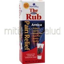 The Arnica Rub 2 oz NATRABIO