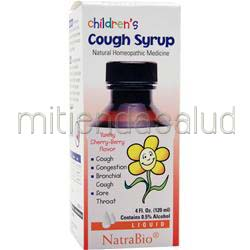 Children's Cough Syrup 4 fl oz NATRABIO