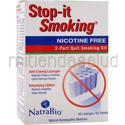 Stop-It Smoking Nicotine Free 48 lzngs NATRABIO