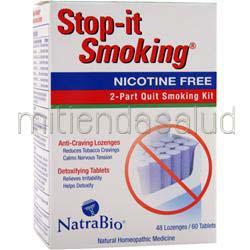 Stop-It Smoking Nicotine Free 48 lzngs NATRABIO