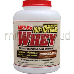 100% Instantized Natural Whey Chocolate 5 lbs MET-RX