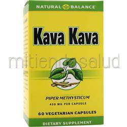 Kava Kava 60 caps NATURAL BALANCE