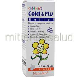 Children's Cold & Flu Relief 1 fl oz NATRABIO