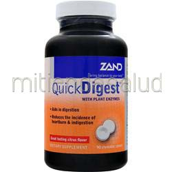 Quick Digest with Plant Enzymes 90 chews ZAND