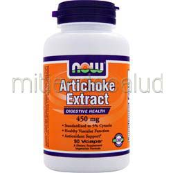 Artichoke Extract 450mg 90 caps NOW