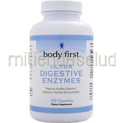 Ultra Digestive Enzymes 60 caps BODY FIRST