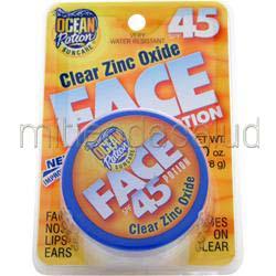 Clear Zinc Oxide Face Potion SPF 45 1 oz OCEAN POTION