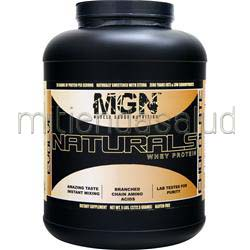Naturals Whey Protein Chocolate 5 lbs MGN
