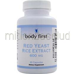 Red Yeast Rice 600mg 60 caps BODY FIRST