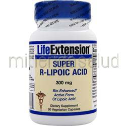 Super R-Lipoic Acid 60 caps LIFE EXTENSION