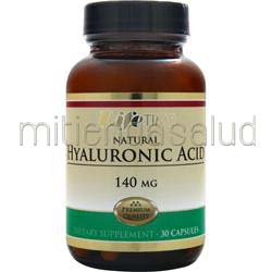 Natural Hyaluronic Acid 140mg 30 caps LIFETIME
