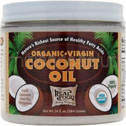 The Real Food Trading Company - Organic Virgin Coconut Oil 14 fl oz FUNFRESH FOODS