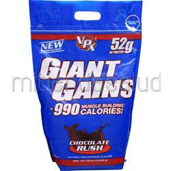 Giant Gains Chocolate Rush 10 lbs VPX SPORTS