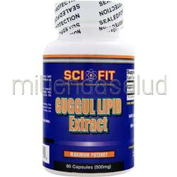 Guggul Lipid Extract 60 caps SCI-FIT