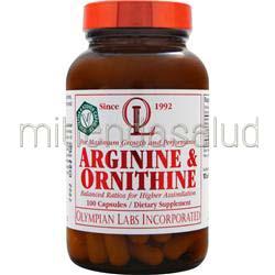 Arginine & Ornithine 100 caps OLYMPIAN LABS
