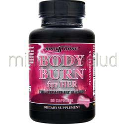 Body Burn for Her - The Ultimate Fat Burner 60 caps BODYSTRONG