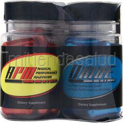 Drive and RPM Combo Pack 25con25 50 caps APPLIED NUTRICEUTICALS