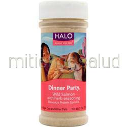 Dinner Party Salmon w/ Herb Seasoning 2 7 oz HALO