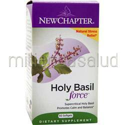 Holy Basil Force 60 sgels NEW CHAPTER