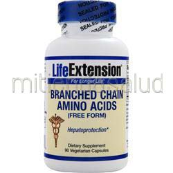 Branched Chain Amino Acids free form 90 caps LIFE EXTENSION