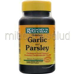 Odorless Garlic and Parsley 100 sgels GOOD 'N NATURAL