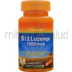 B12 Lozenge 1000mcg 30 lzngs THOMPSON