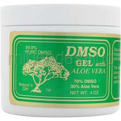 DMSO Gel with Aloe Vera - 70%/30% 4 oz DMSO