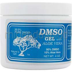 DMSO Gel with Aloe Vera - 90%/10% 4 oz DMSO