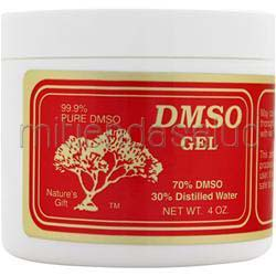 DMSO Gel - 70% 4 oz DMSO