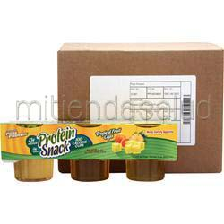 Pure Protein Gelatin Protein Snack Cherry Punch 18 cup WORLDWIDE SPORTS