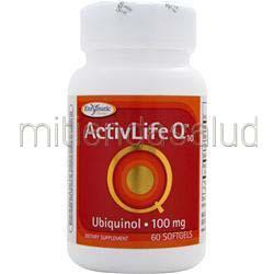 ActivLife Q10 - Ubiquinol 100mg 60 sgels ENZYMATIC THERAPY