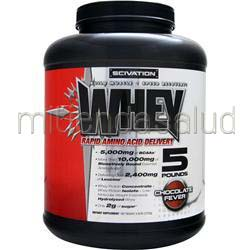 Whey Powder Chocolate Fever 4 9 lbs SCIVATION