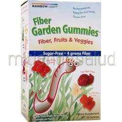 Fiber Garden Gummies Variety Sour Fruit 30 pckt RAINBOW LIGHT