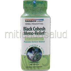 Black Cohosh Meno-Relief 1650 60 tabs RAINBOW LIGHT