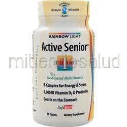 Just Once - Active One Senior Multi 30 tabs RAINBOW LIGHT