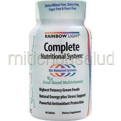 Complete Nutritional System 90 tabs RAINBOW LIGHT