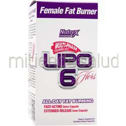 Lipo-6 Hers 120 caps NUTREX RESEARCH