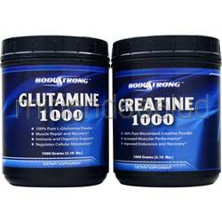 Creatine/Glutamine Combo Pack 1 pck 1 pck BODYSTRONG