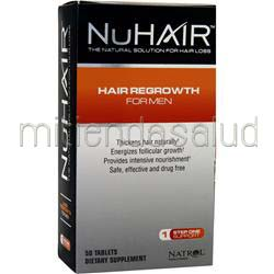 Hair Regrowth for Men 50 tabs NU HAIR