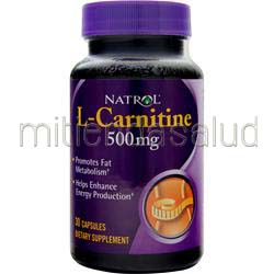 L-Carnitine 500mg 30 caps NATROL