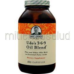Udo's 3-6-9 Oil Blend 180 caps FLORA