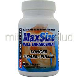 MaxSize 60 tabs MD SCIENCE LABS
