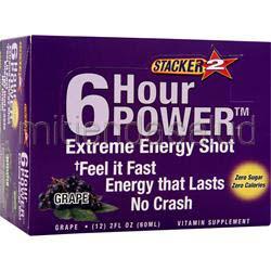 Stacker 2 6 Hour Power Extreme Grape 12 bttls NVE PHARMACEUTICALS