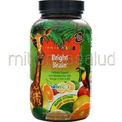 Bright Brain Super Citrus 30 chews IRWIN NATURALS