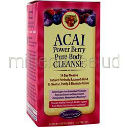 Acai Power Berry Pure-Body Cleanse 56 tabs NATURE'S SECRET