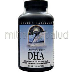 ArcticPure DHA 120 sgels SOURCE NATURALS