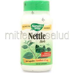 Nettle Herb 100 caps NATURE'S WAY