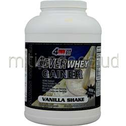 4Ever Whey Gainer Vanilla Shake 6 6 lbs 4 EVER FIT