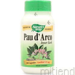 Pau d'Arco Inner Bark 100 caps NATURE'S WAY