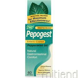 Pepogest - Peppermint Oil 60 sgels NATURE'S WAY